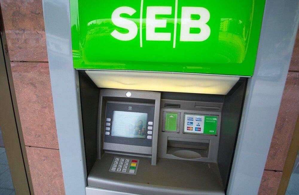SEB sularahaautomaat
