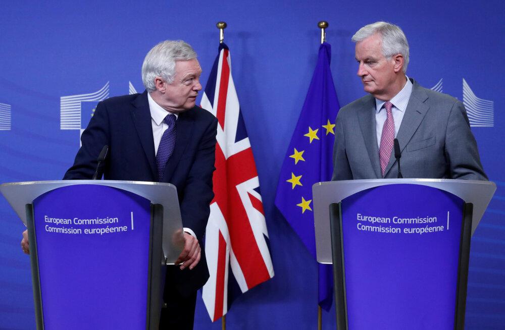 Brexiti kõneluste esimeses faasis kokkulepeteni ei jõutud