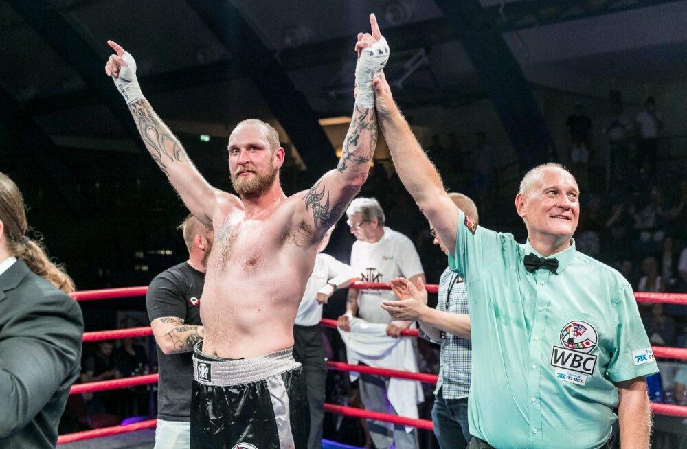 Laupäeva õhtul toimus Kalevi spordihallis suurejooneline võitlusõhtu Warrior Fight II