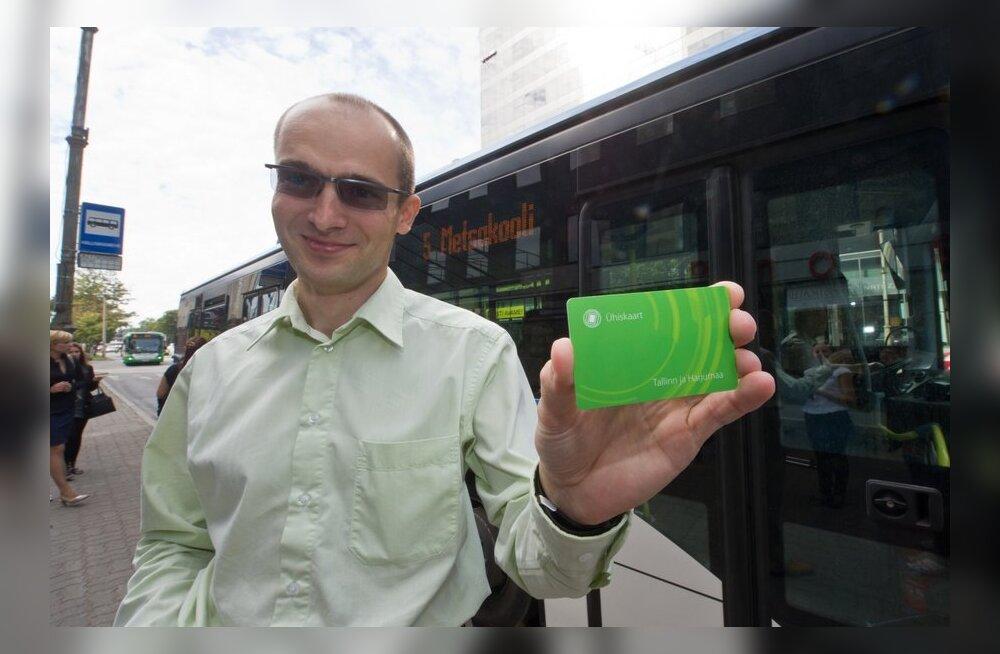 Tallinna ühistranspordi uus e-kaart on esialgu vaid lisavõimalus