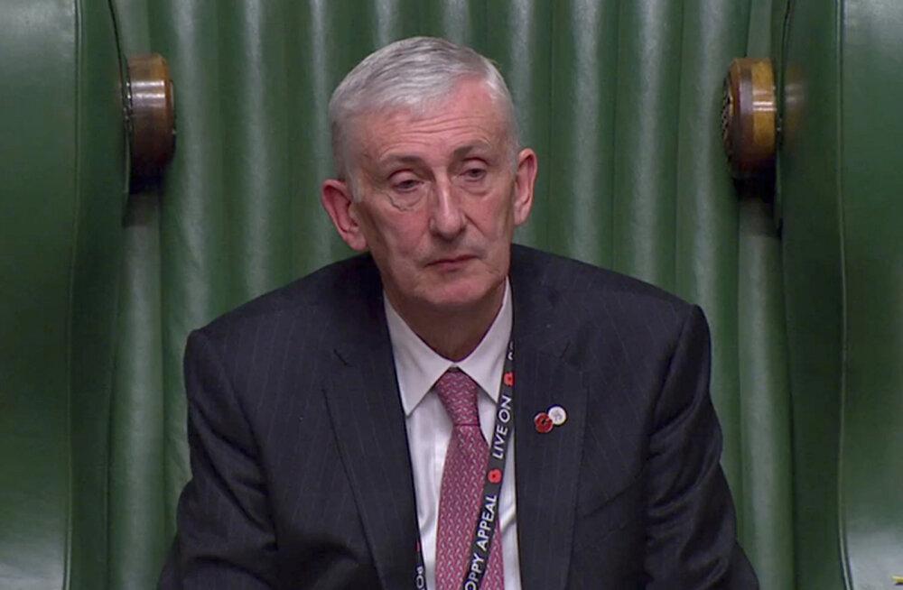 Suurbritannia parlamendi uueks spiikriks valiti Sir Lindsay Hoyle