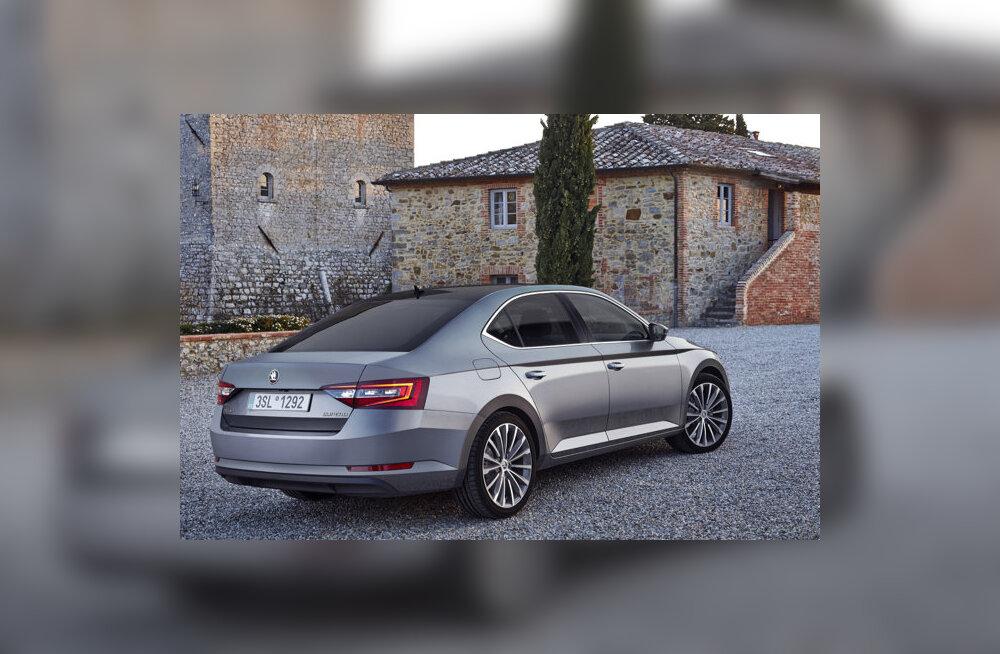 Proovisõit: uus Škoda Superb – konkurentidel on kurvad päevad