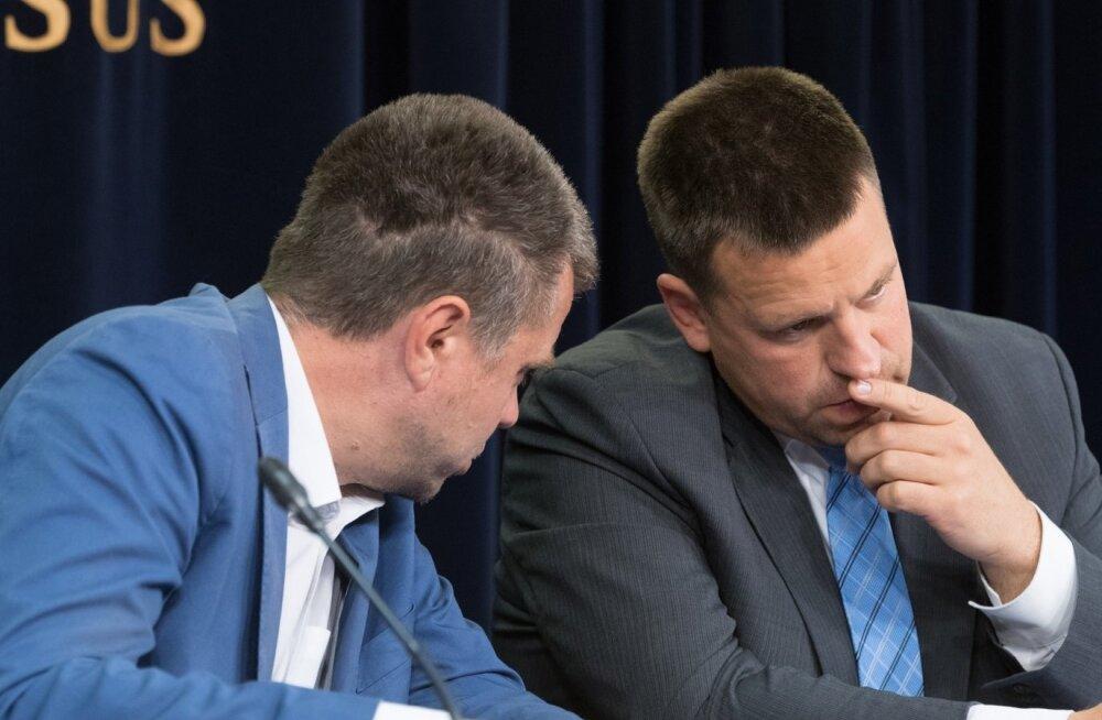 Peaminister Jüri Ratas ja välisminister Urmas Reinsalu.