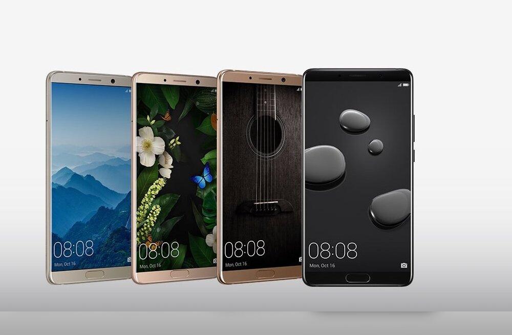 Huawei uus tipptelefon Mate 10 – aasta ilmselt viimane lipulaev, aga kaugeltki mitte igav või ebaoriginaalne!