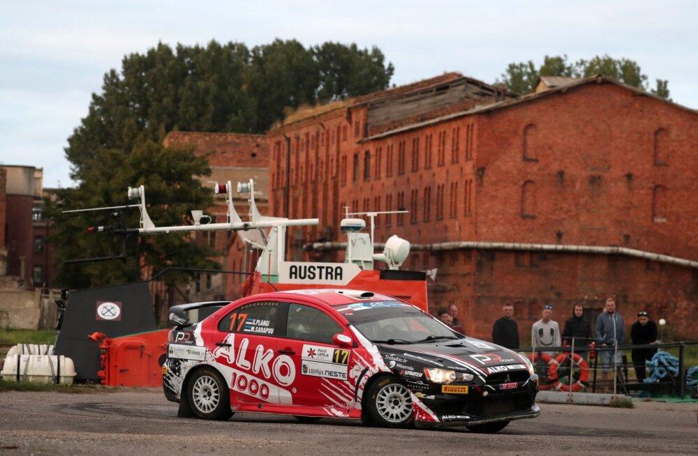 Siim Plangi tuli ERC sarja etapil Lätis kolmandale kohale