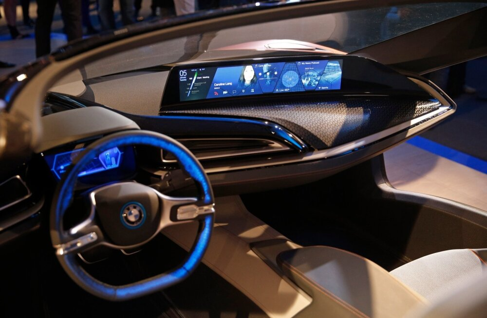 BMW  i Vision Future Interaction ideeauto Las Vegases.