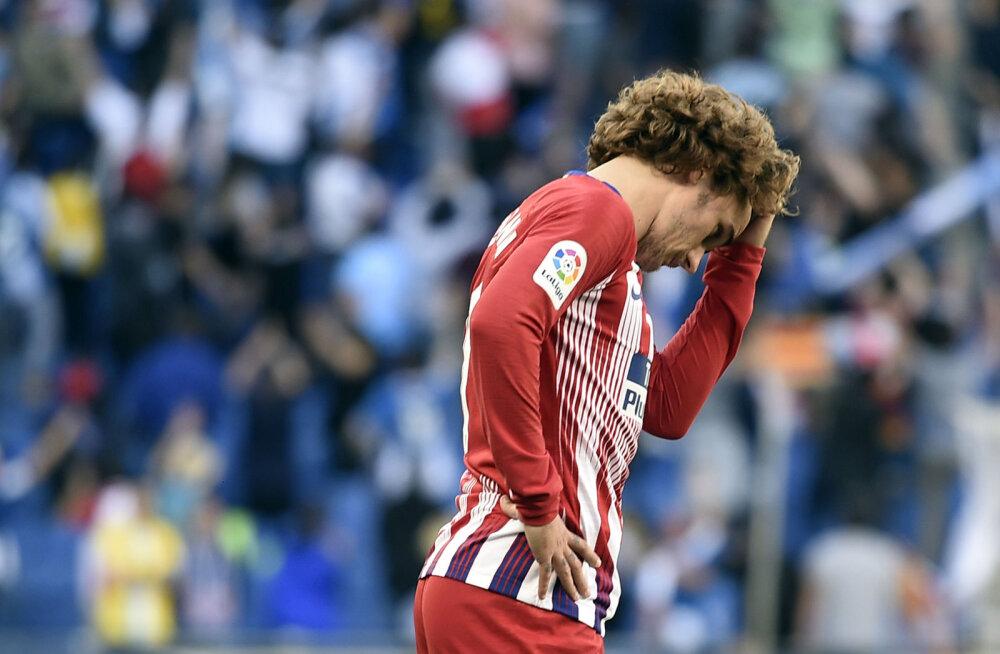 Barcelona ja Madridi Atletico said Hispaanias üllatuskaotused
