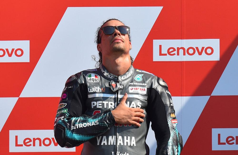 VIDEO | Franco Morbidelli sai dramaatilisel San Marino GP-l esimese MotoGP etapivõidu