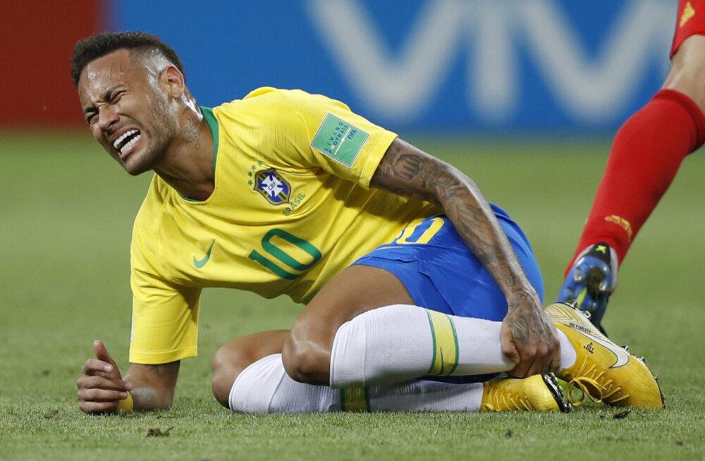 Neymar võttis esimest korda pärast MM-i teesklemise teemal sõna