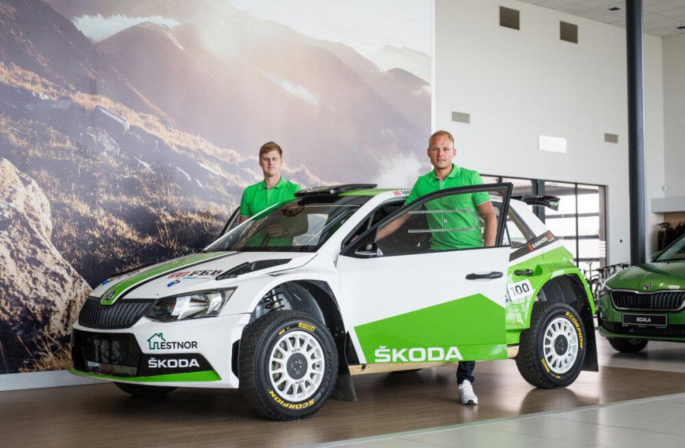 Kahekordsed Rally Estonia poodiumimehed debüteerivad tänavu R5 klassis