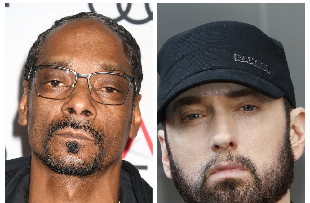 Eminem ei kuulu Snoop Doggi kümne parima räppari hulka: ta on hea vaid tänu Dr. Dre'le