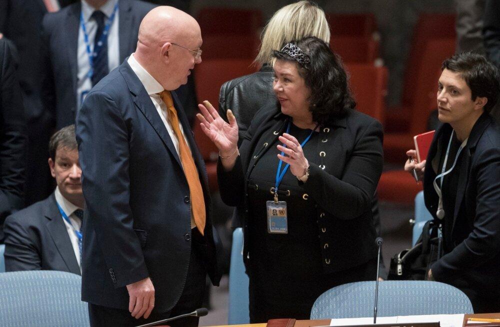 Venemaa ÜRO-s: Suurbritannia mängib tulega ja hakkab Venemaa süüdistamist mürgirünnakus kahetsema