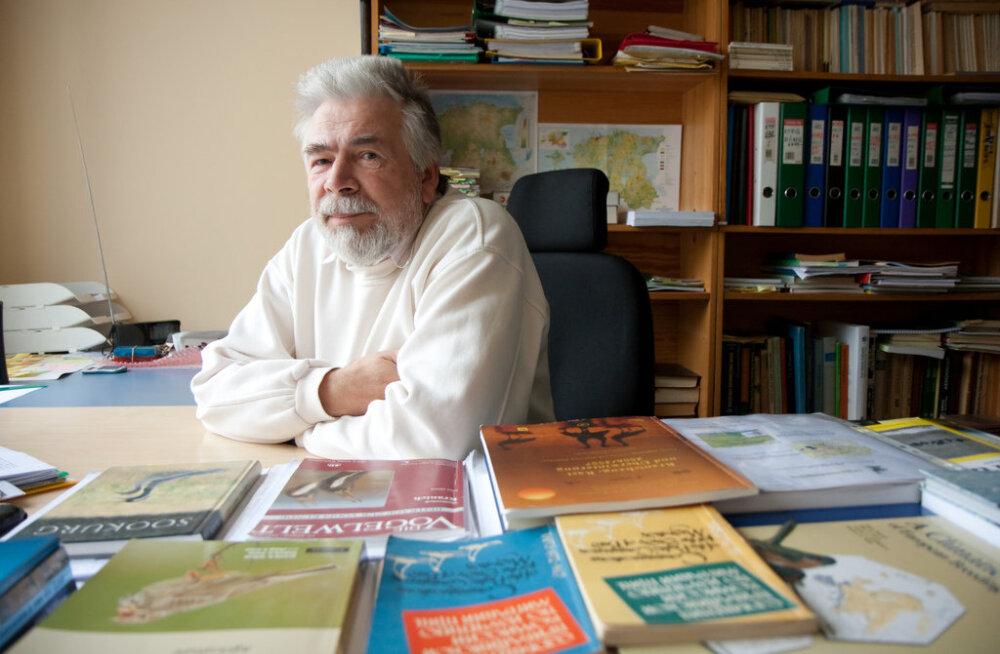 Suri maaülikooli teadlane, kureuurija Aivar Leito