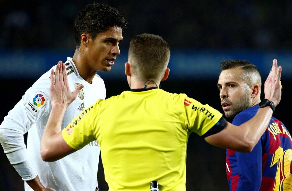 Madridi Real kritiseeris avalikult kohtunikku: meile jäeti kaks penaltit andmata