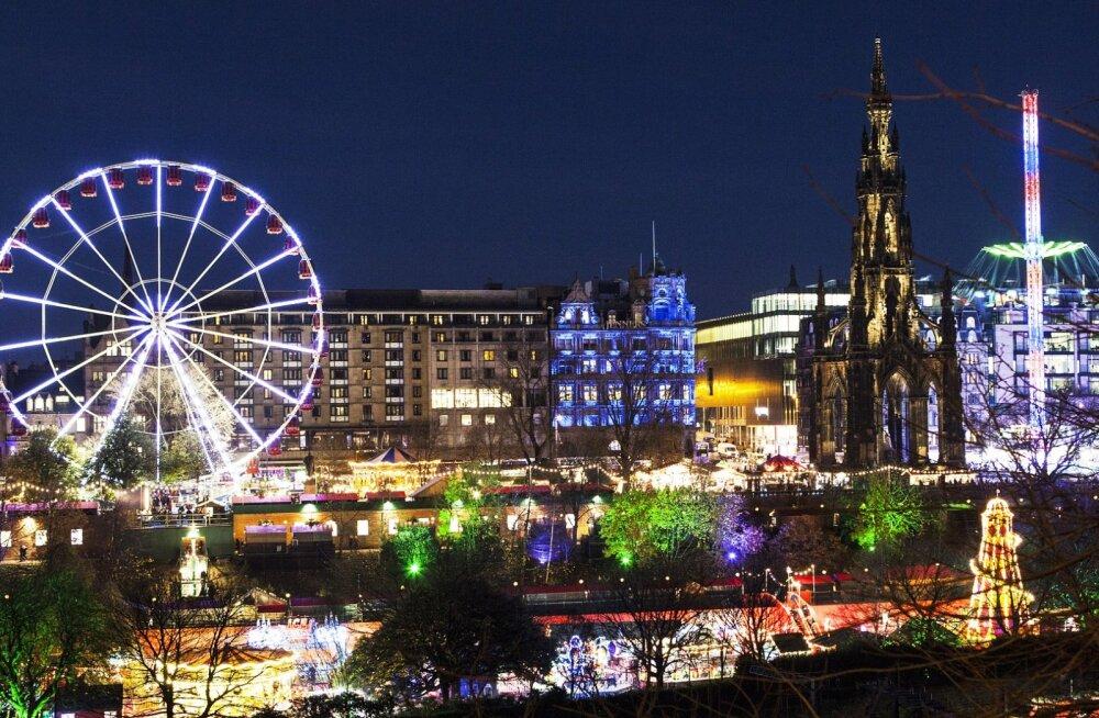 Veeda jõulud ja aastavahetus Šotimaal! Edasi-tagasi otselend Tallinnast Edinburghi kõigest 28 eurot