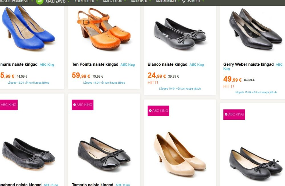 Советы от Zave.ee: как найти женскую обувь по выгодной цене