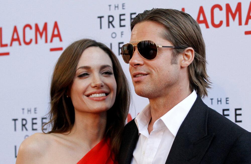 Brad Pitt on sattunud uue tüdruksõbra tõttu suure dilemma ette: kas Angelina ähvardab teda?