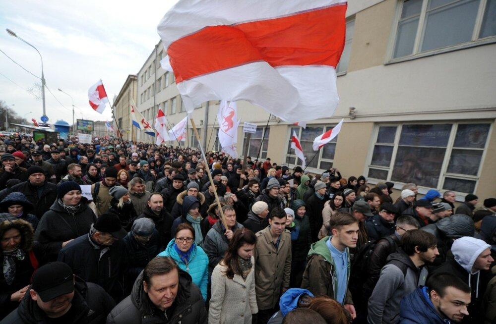 Valgevene KGB teatas 26 väidetavalt relvastatud rahutusi ette valmistanud aktivisti vahistamisest