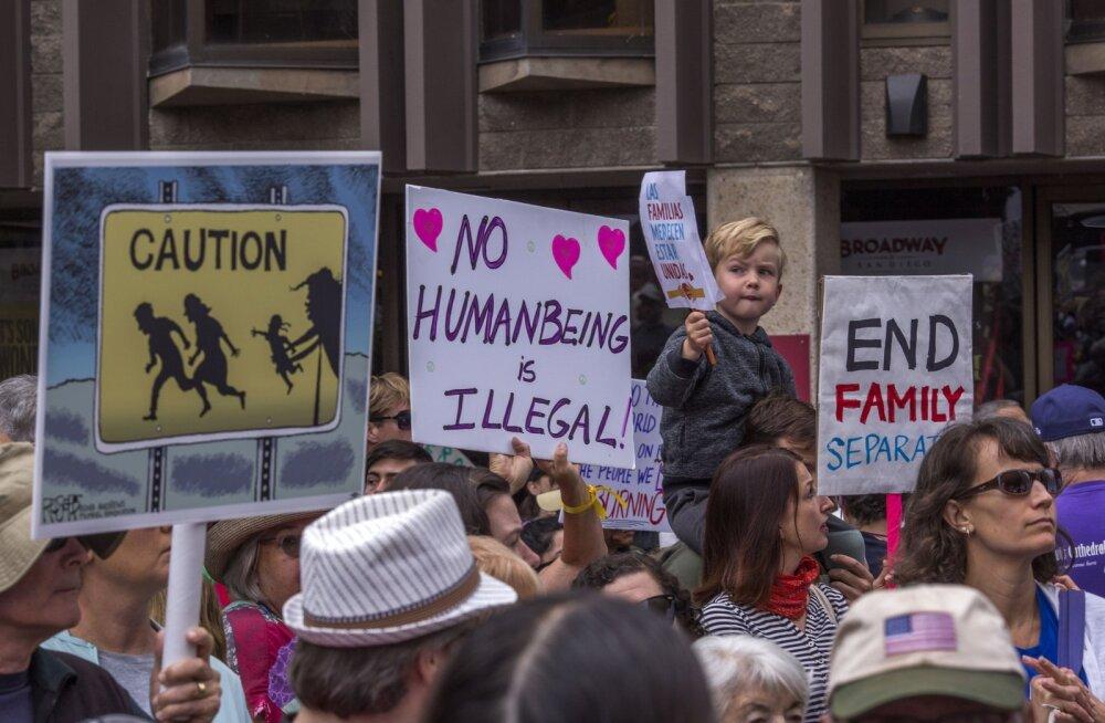 2000 USA piiril vanematest lahku löödud last ootab jätkuvalt taaskohtumist