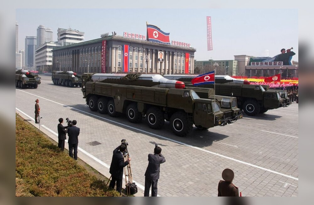 Põhja-Korea viis teise keskmaaraketi idarannikule
