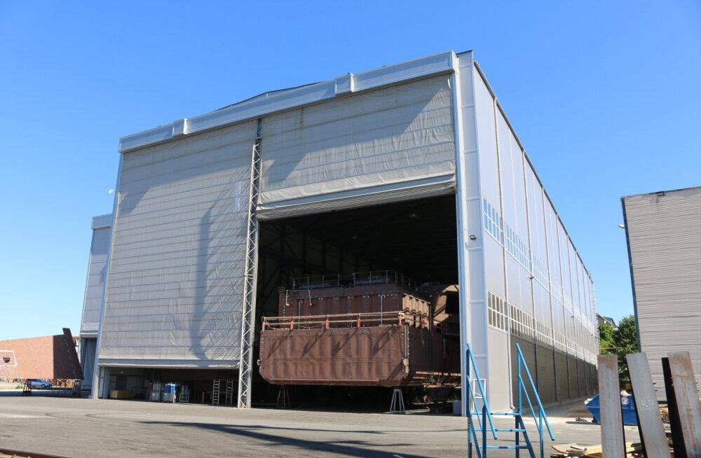 BLRT lõpetas tootmistegevuse Noblessneri kvartalis