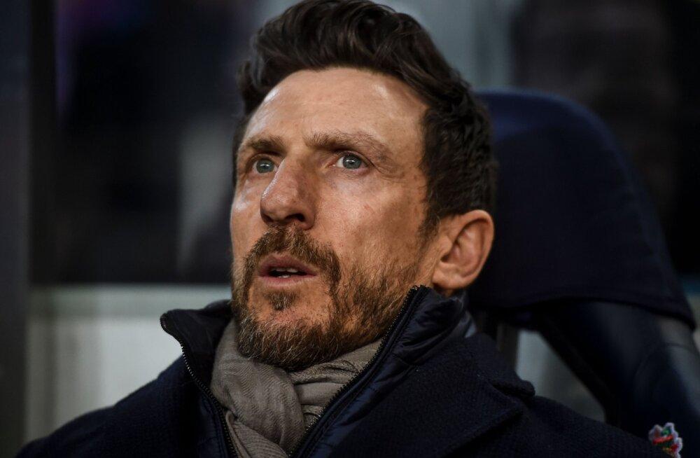 Meistrite liigast välja langemine maksis AS Roma peatreenerile töökoha
