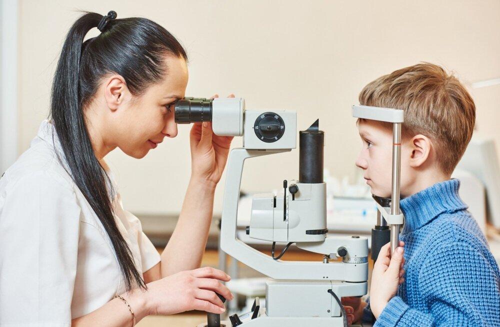 Vajadus laste nägemiskontrolliks spetsiaalsete seadmetega on jätkuvalt suur.