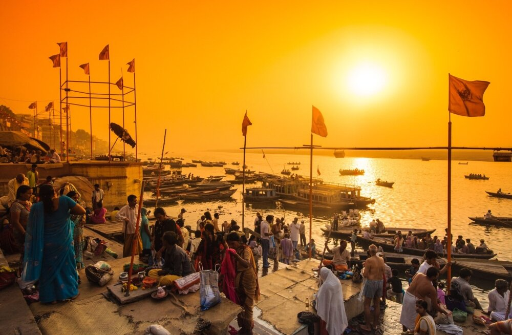 Loojang Gangese jõel