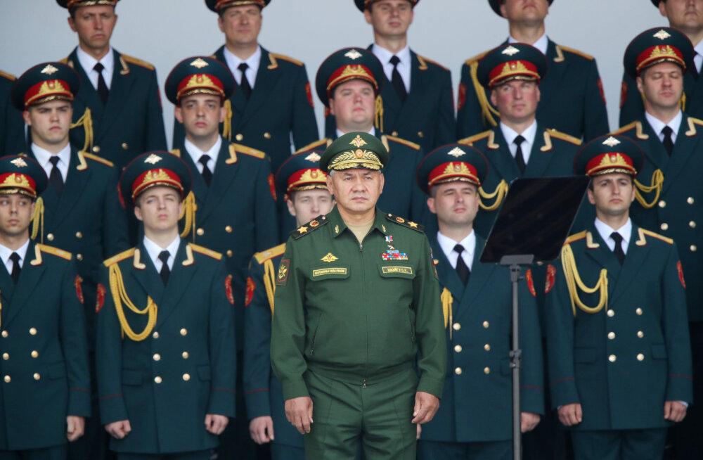 Ajaleht: Venemaa rahandusmininisteerium tahab 100 000 ametikoha kärpimist armeest