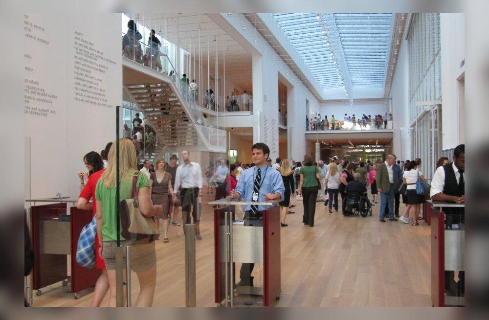 Selline on reisijate valik: kümme maailma parimat muuseumi, mida külastada