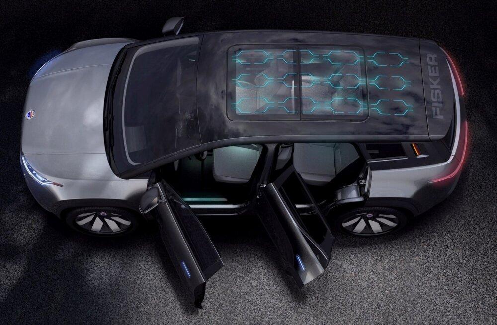 Fiskeri e-SUV kannab nime Ocean ja seda saab novembrist eeltellida