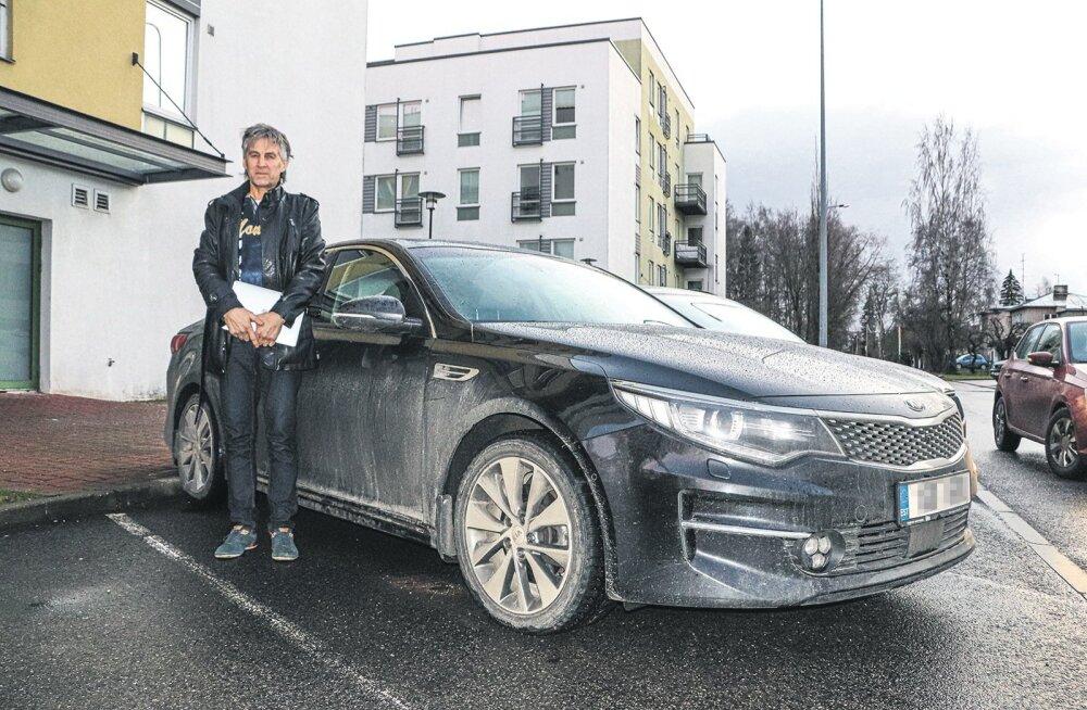 Pärast 14 kuud närvide kulutamist sai Vilhunen tänavu kevadel esimest korda oma auto täiesti töökorda.