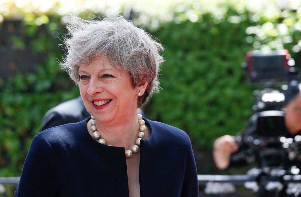 Theresa May Euroopa Ülemkogul.