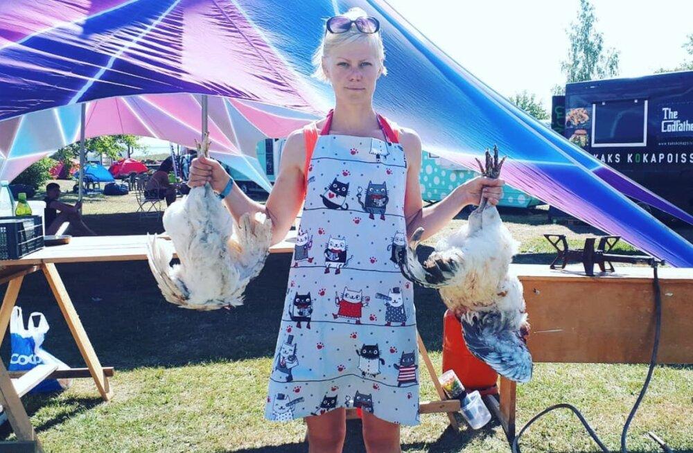 Heidi Hanso reklaamis supikeetmise töötuba pildiga, mis loomasõpru ärritas: minu eesmärgiks on tutvustada talupidamist!
