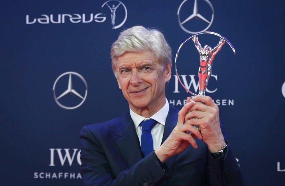 Arsene Wenger saab elutööauhinna