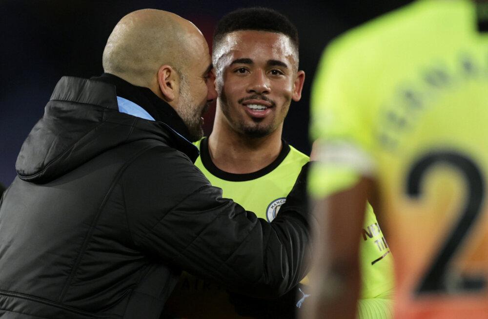 Manchester City sai lähirivaali üle napi võidu