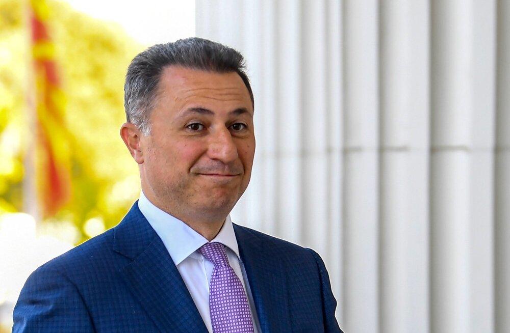 Nikola Gruevski põgenes riigist ja ilmus eelmisel nädalal välja Budapestis.