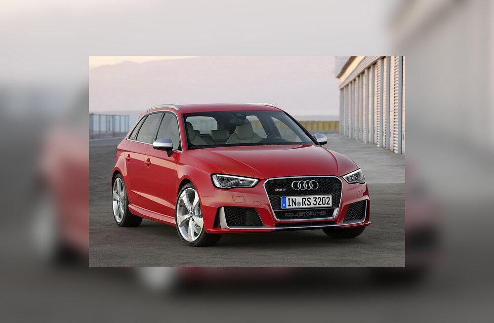 Audi avaldas uue RS3 Sportbacki