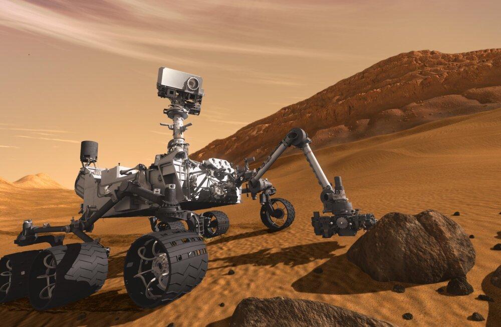 Hea küsimus: miks kulgur Curiosity ei tohi Marsil veeproove koguda?