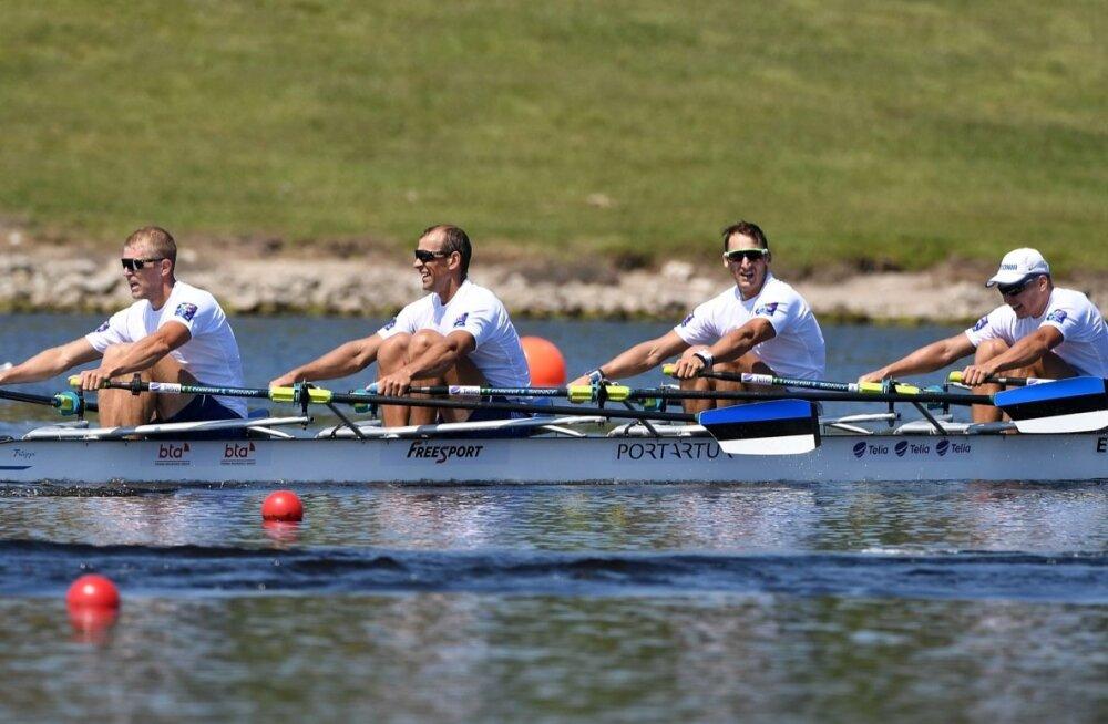 Обновленная эстонская четверка финишировала последней