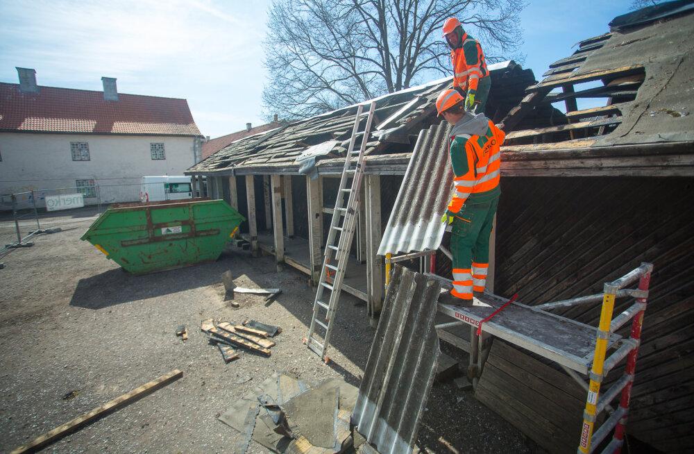 MEIE MAA   Kesklinna remont algas turul lammutustöödega