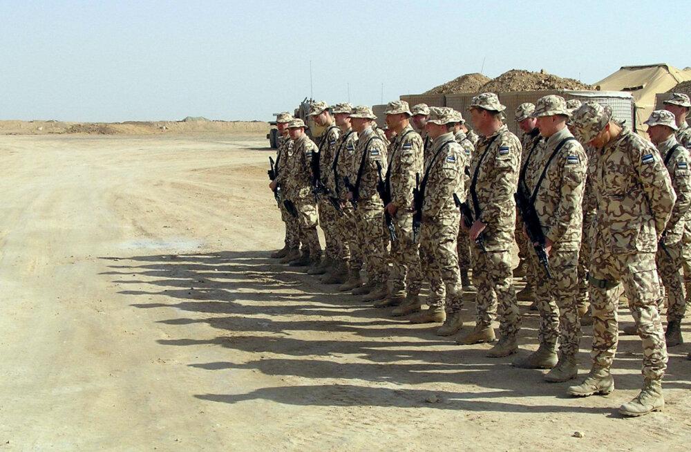 Eesti kaitseväelaste väljaõppemeeskond jõudis täna pärastlõunal Iraagist Kuveiti