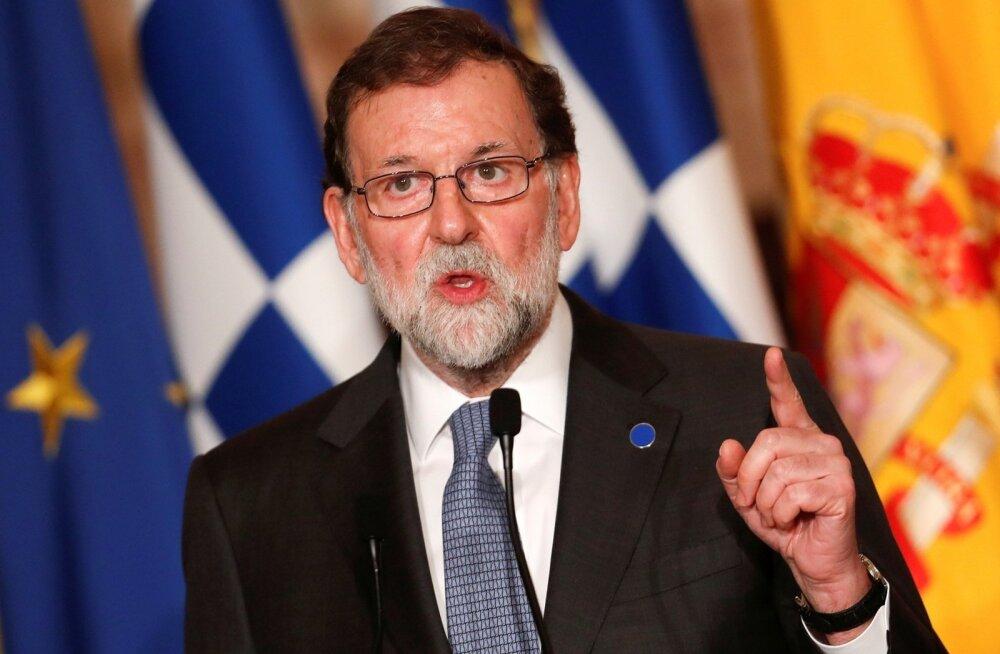Rajoy: kui Puigdemont valitakse uuesti Kataloonia presidendiks, jätkub otsevalitsemine Madridist