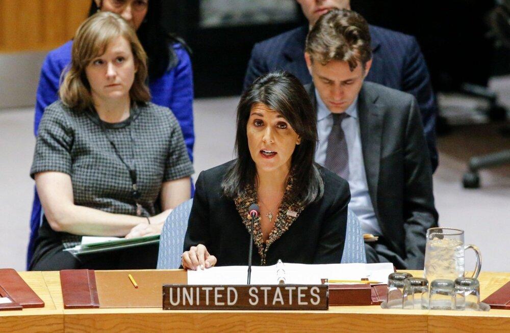 USA lubab ÜRO hääletust Jeruusalemma Iisraeli pealinnana tunnustamise hukkamõistmise üle isiklikult võtta