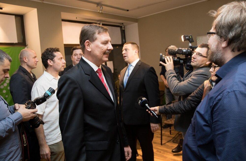 Jüri Ratas ja Taavi Aas külastasid teisi erakondi