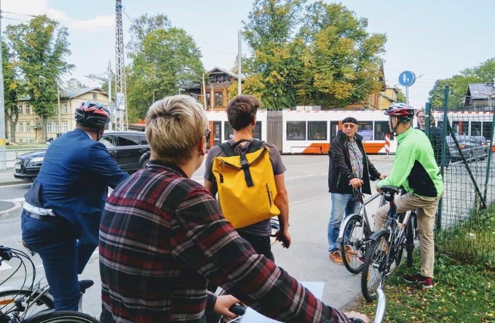 """Пыхья-Таллинн выбирает """"Друга велосипедистов"""""""