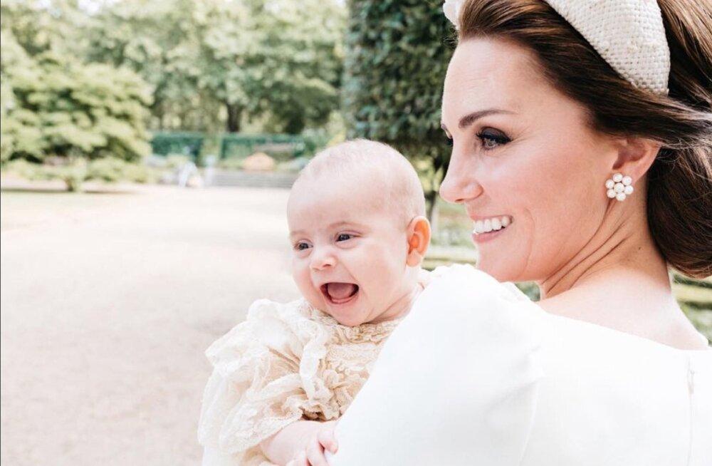 IMEARMAS KLÕPS | Kuninglik palee avaldas hertsoginna Kate'ist ja pisiprintsist äärmiselt tavatu kaadri