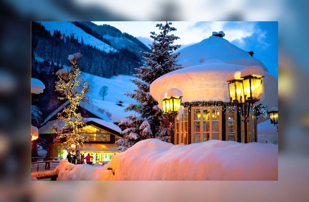 Eestimaalased veedavad jõulupuhkuse kaugel maal ja suusatamas