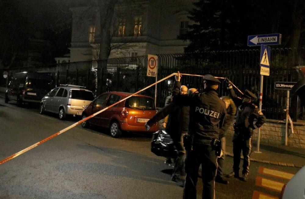 Viinis lasti maha Iraani suursaadiku residentsi valvurit noaga rünnanud mees
