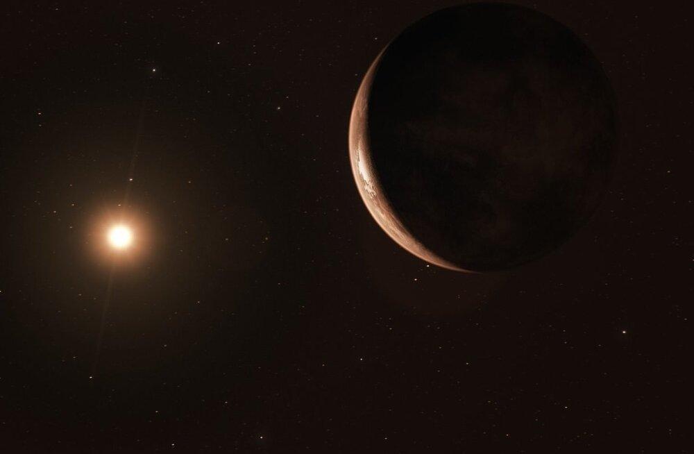 Barnardi tähe juurest avastatud uuel planeedil võib siiski elu eksisteerida
